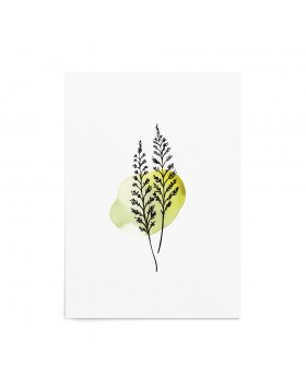 Art Print Green Fern
