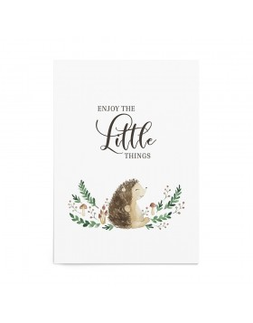 Art Print Little Hedgehog