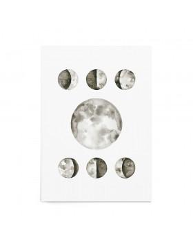Art Print Lunar Calendar