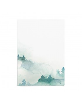 Art Print Peaceful Forest