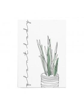 Art Print Plant Lady