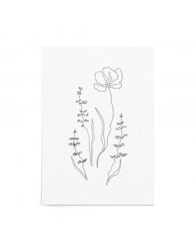 Art Print Wildflowers