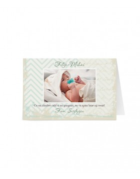 Card botez Little Forest