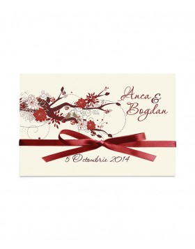 Invitatie de nunta Blossom Branch