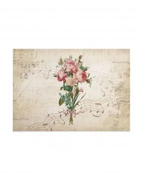 Invitatie de nunta Postcard Flowers