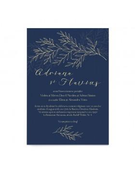 Invitatie nunta Lavish Foliage