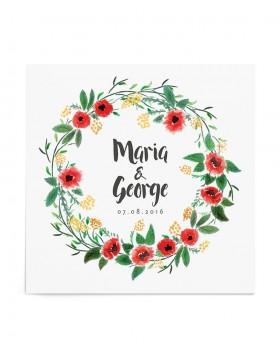 Invitatie de nunta Springlike
