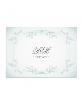 Invitatie de nunta Royal Crest