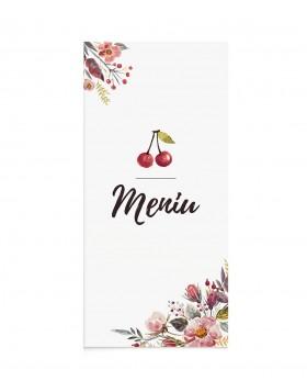Meniu Cherry Flowers