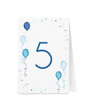 Numar de masa Balloons Sprinkle