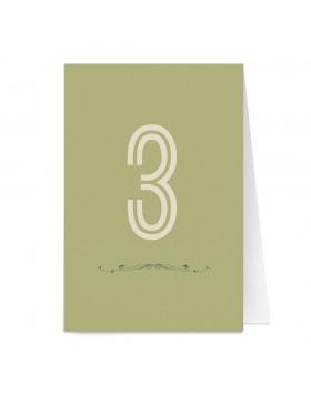 Numar de masa Typography